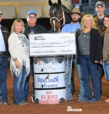Juvenile Sires Slots Champion: RR Mistakelly - $25,000