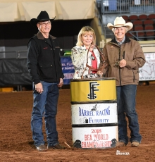 Cheryle Laws: Owner/ Breeder/Rider Champion!