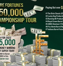 New in 2022! $45,000 to the High Money Winner of Super Tours