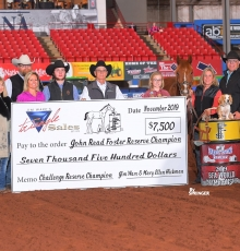 John Reed Foster Reserve Champion